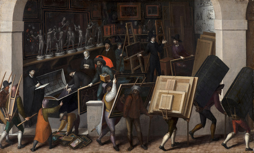 Francois Bunel II-De uittocht uit de kunsthandel